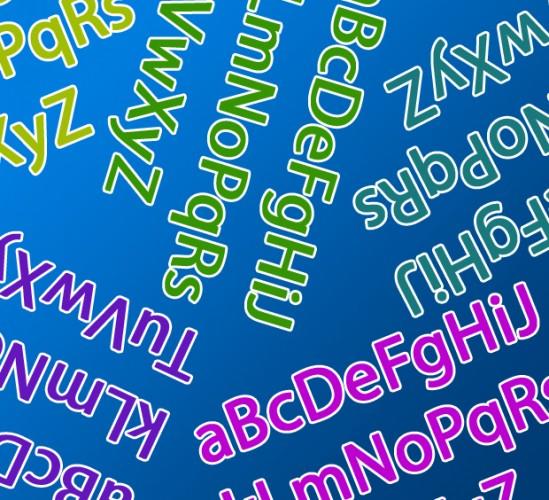 Letters en logo's
