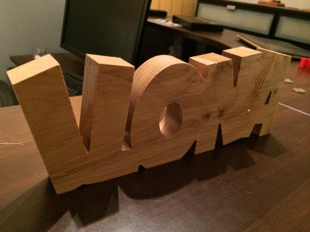 ilona houten letters